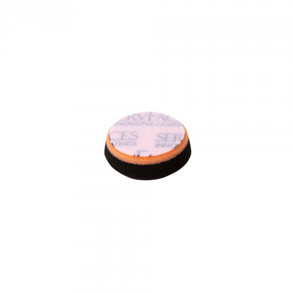 Polishing sponge V4 (anthracite-soft/orange, open-cell)
